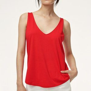 Wilfred Aritzia Red top XS